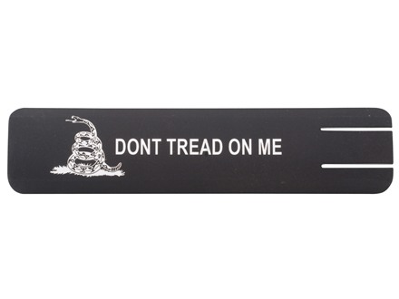 Falcon Industries ERGO Full Profile Gadsden Flag Don't Tread on Me Insignia Rail Cover Polymer Black