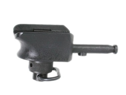 Versa-Pod Bipod Adapter Picatinny Rail Black