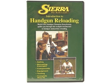 Sierra Video &quot;Introduction to Handgun Reloading&quot; DVD