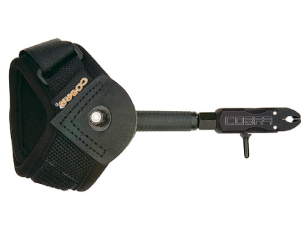 Cobra Bravo EV1 Bow Release Velcro Wrist Strap Black