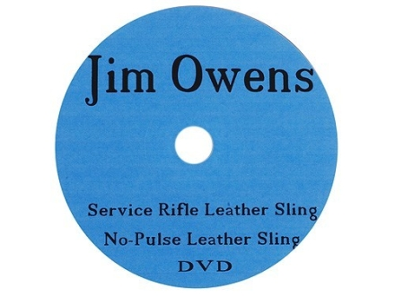 "Jim Owens Video ""No Pulse Service Rifle Sling"" DVD"