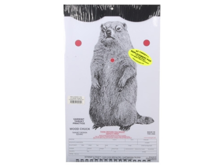 EZ Target Woodchuck Replacement Target 11&quot; x 17&quot; Paper Package of 15