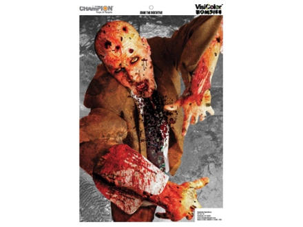 "Champion Zombie Eddie the Executive Target 24"" x 45"" Paper Package of 10"