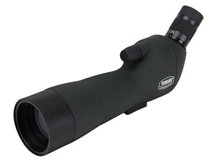 Yukon Firefall Spotting Scope 16-45x 60mm Angled Eyepiece with Tripod, Window Mount and Aluminum Case Green