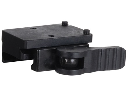 American Defense AD-RMR Mini Quick-Release Trijicon RMR Mount Right-Handed Picatinny-Style AR-15 Flat-Top Matte