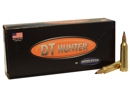 Doubletap Ammunition 22-250 Remington 55 Grain Nosler Ballistic Tip Box of 20