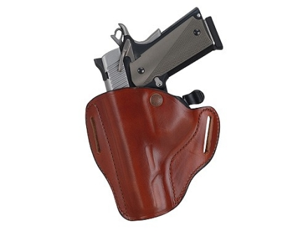 Bianchi 82 CarryLok Holster Left Hand 1911 Officer Leather Tan