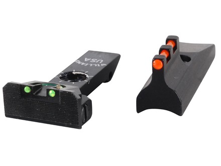 Williams Fire Sight Set Ruger New Model Single Six Fiber Optic Green