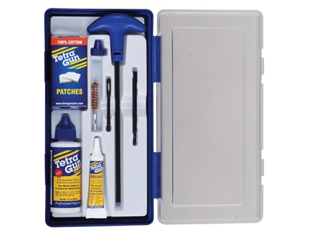 Tetra Gun ValuPro III Handgun/Pistol Cleaning Kit 357, 38 Caliber, 9mm Luger in Hard Plastic Container
