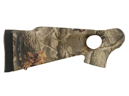 Thompson Center Encore Pro Hunter Rifle Flex-Tech Thumbhole Buttstock Synthetic Realtree Hardwoods Camo