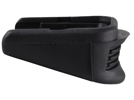 Pearce Grip Extension Glock 26, 27, 33 Plus One Polymer Black
