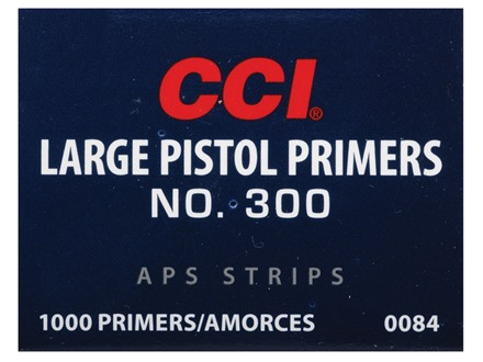 CCI Large Pistol APS Primers Strip #300