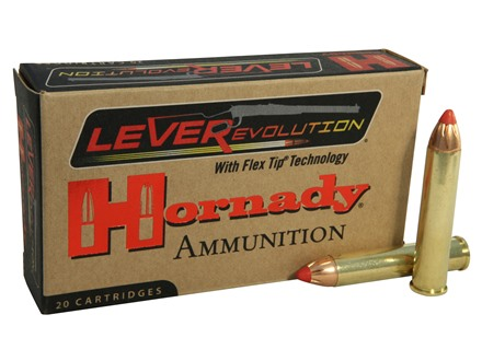 Hornady LEVERevolution Ammunition 444 Marlin 265 Grain Flex Tip eXpanding Box of 20