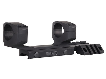 Warne RAMP 1-Piece Extended Scope Mount Picatinny-Style with Integral Rings Flattop AR-15