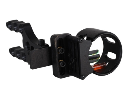 Extreme Tundra 3-Pin Bow Sight .029&quot; Pin Diameter Right Hand Aluminum Black
