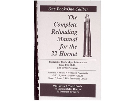 "Loadbooks USA ""22 Hornet"" Reloading Manual"