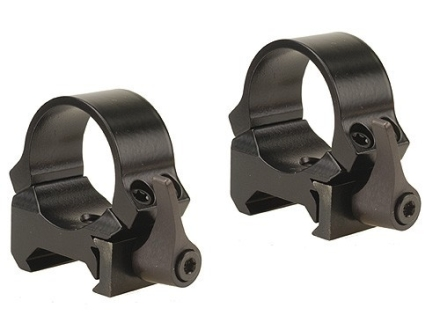 "Leupold 1"" QRW Quick-Release Weaver-Style Rings Gloss Low"
