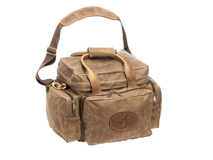 Browning Santa Fe Range Bag Waxed Cotton Canvas Tan