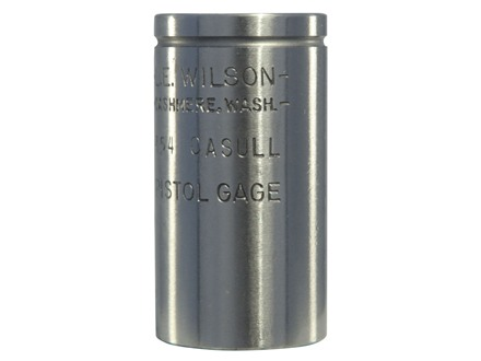 L.E. Wilson Max Cartridge Gage 454 Casull