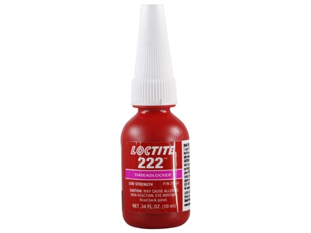 Loctite 222 Threadlocker Purple 10 ml