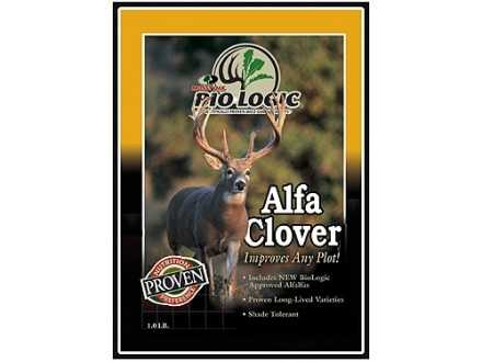 BioLogic Alfa Clover Perennial Food Plot Seed 1 lb