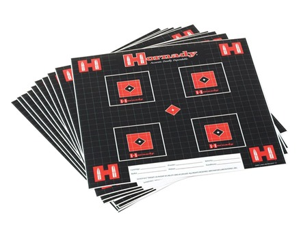 "Hornady Lock-N-Load Target 12"" x 12"" Package of 10"