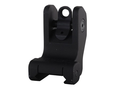 Troy Industries Detachable Fixed Rear Battle Sight AR-15 Flat-Top Aluminum Black