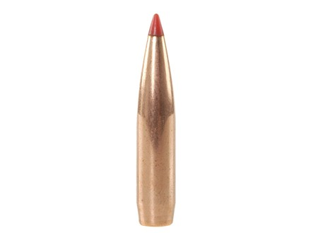 Hornady A-Max Bullets 264 Caliber, 6.5mm (264 Diameter) 140 Grain Boat Tail Box of 100