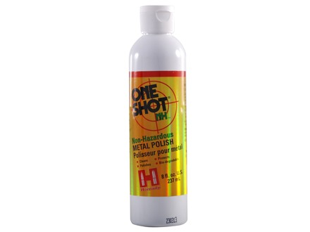 Hornady One Shot Non-Hazardous Brass Case Polish 8 oz Liquid