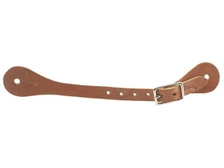 Weaver Single-Ply Spur Straps Leather Brown