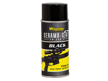 Wheeler Engineering Cerama-Coat 4 oz Aerosol Black