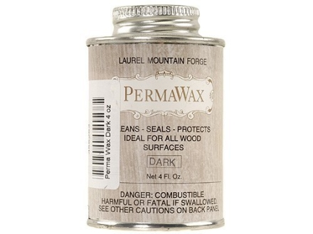 Laurel Mountain PermaWax Gunstock Wax Dark 4 oz Liquid