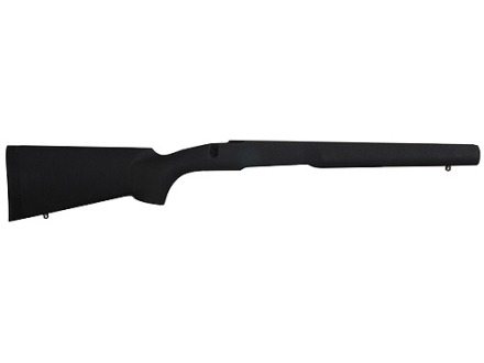 "H-S Precision Pro-Series Rifle Stock Savage Short Action with 4.4"" Screw Spacing Detachable Magazine Center Feed Only Varmint Barrel Channel Synthetic Black"