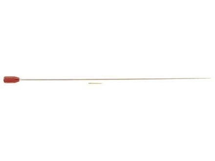 "Dewey 1-Piece Cleaning Rod 27 to 45 Caliber 36"" Brass 8 x 32 Thread"