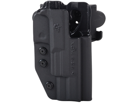 Comp-Tac International Belt Holster Right Hand Springfield XDM Competition 5.25&quot; Barrel 9mm Kydex Black