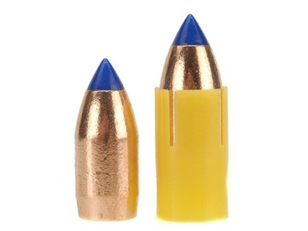 Barnes Spit-Fire TMZ Muzzleloading Bullets 50 Caliber Sabot with 45 Caliber 250 Grain Polymer Tip Boat Tail Lead-Free Box of 24