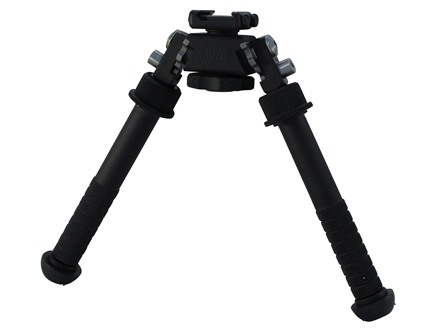 "Atlas BT10 Bipod 1913 Picatinny Rail Mount 4.75"" to 9"" Aluminum Black"