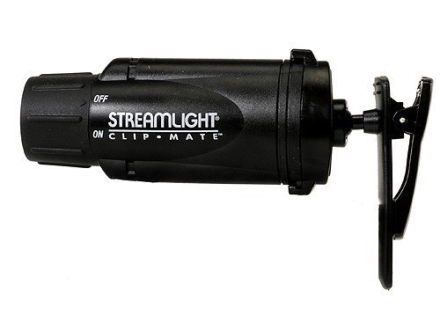Streamlight ClipMate Flashlight Green LED Polymer Black