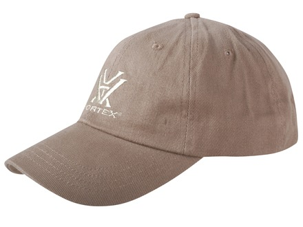 Vortex Logo Cap Brown Cotton
