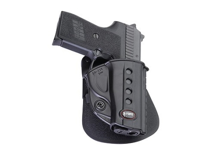 Fobus Evolution Roto Paddle Holster Right Hand Sig Sauer P239 9mm, S&W Sigma 380, SW380, SW9 Polymer Black