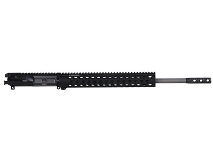 Noveske AR-15 NST A3 Flat-Top Upper Assembly 5.56x45mm NATO 1 in 7&quot; Twist 18&quot; Barrel Stainless Steel with NSR-13.5 Free Float Handguard, SJC Titan Brake