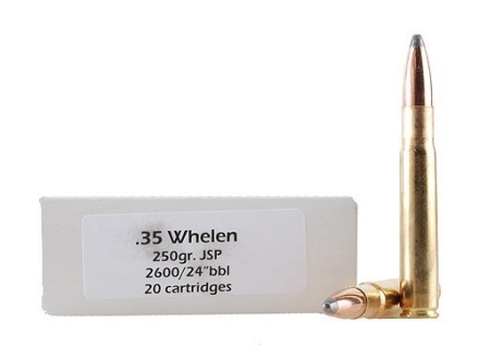 Doubletap Ammunition 35 Whelen 250 Grain Jacketed Soft Point Box of 20