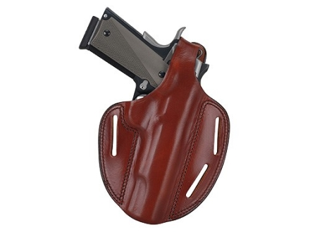Bianchi 7 Shadow 2 Holster Right Hand Bersa Thunder 380, Kahr K9, K40, P9, MK9, MK40 Leather Tan
