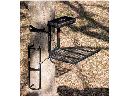Big Game The Boss XL/Stagger Step Combo Hang On Treestand Steel Black