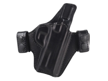 Bianchi Allusion Series 125 Consent Outside the Waistband Holster Right Hand Smith &amp; Wesson M&amp;P 9mm or 40 S&amp;W Leather Black