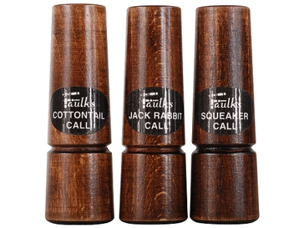 Faulk&#39;s Calls PR3 Predator Call Set Pack of 3