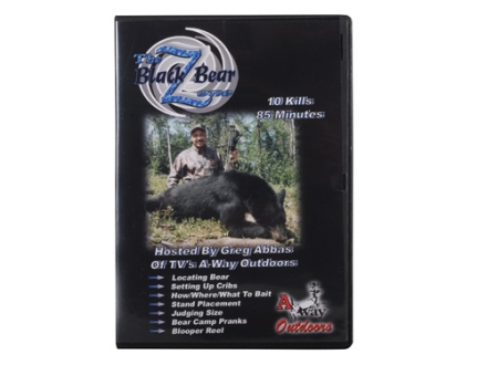 """The Black Bear Zone"" DVD by A-Way Outdoors"