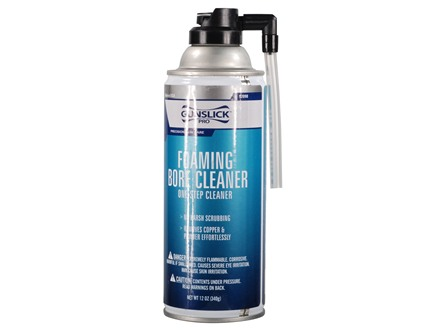 Gunslick Pro Foaming Bore Cleaning Solvent 12 oz Aerosol