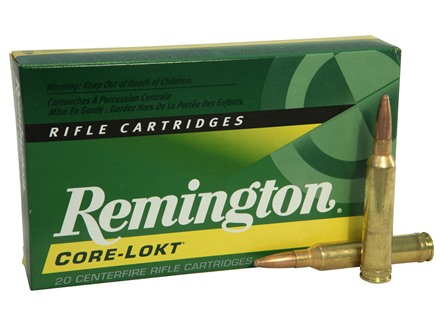 Remington Express Ammunition 7mm Remington Magnum 140 Grain Core-Lokt Pointed Soft Point Box of 20