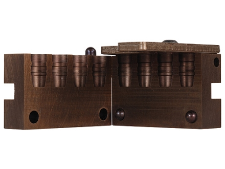 Saeco 4-Cavity Bullet Mold #417 41 Remington Magnum (411 Diameter) 210 Grain Semi-Wadcutter